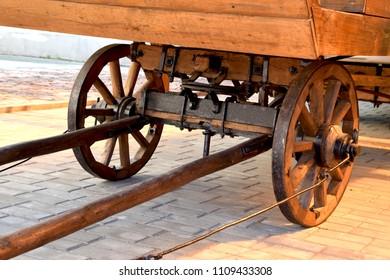 Cart Wheels Axles Images, Stock Photos & Vectors   Shutterstock