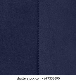 The front and back side of the loden knitwear fabric texture