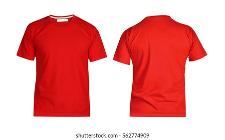 T-shirts Red Stock Photos, Images \u0026