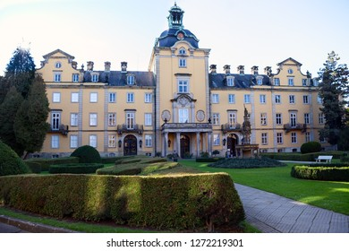 Front of Buckeburg Palace in Lower Saxony, Germany