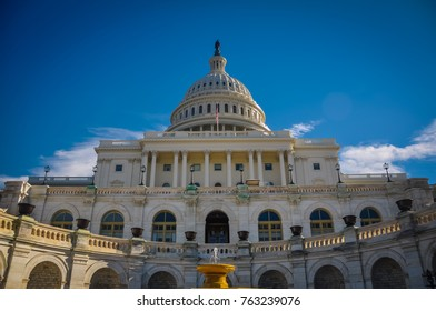 Front of the Capitol Building - Washington D.C.