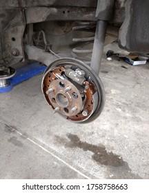 Front Car Disc Brake Pad.