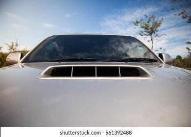 front car hood bonnet