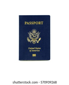 Front cover of a US passport