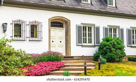 front door. Beautiful exterior