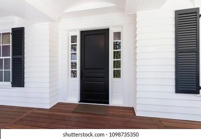 Front Door of classic style home