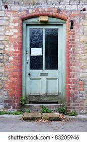 Front Door of a Derelict House