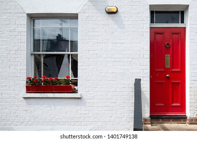 front door of an english house