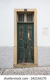 The front door to the house. Portugal