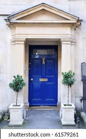 Front Door of a Luxury Georgian Town House