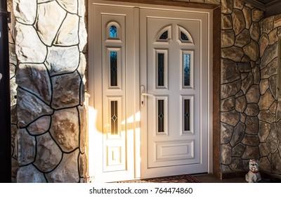 Front door PVC