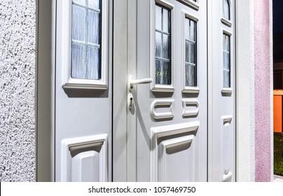 front door pvc, upvc plastic door