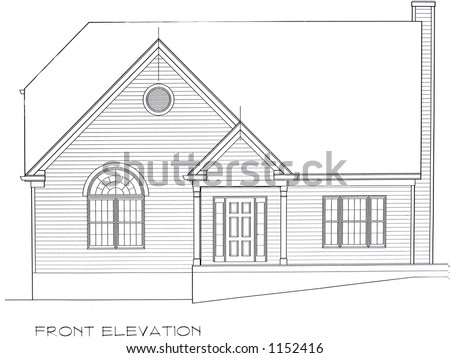 house elevation blueprint, house floor plan and elevation, house side elevation plan, on house plan with all elevation