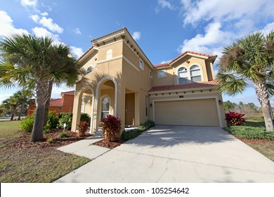 The Front Exterior of a Florida Home