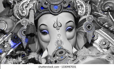 wallpaper ganesh images hd black and white