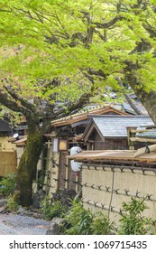 Front gate japanese tradition ancient house