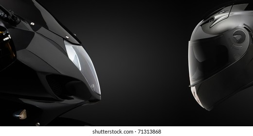 Front hull and helmet