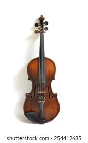 Front old violin