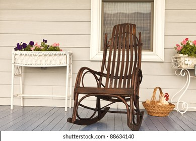 Rocking Chair Porch Images Stock Photos Vectors Shutterstock
