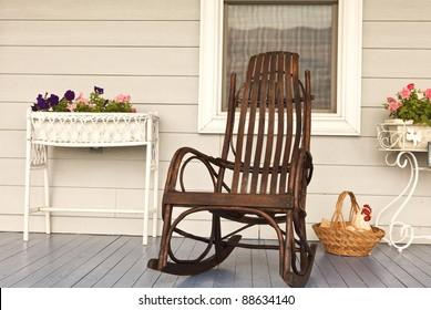 Fantastic Rocking Chair Images Stock Photos Vectors Shutterstock Inzonedesignstudio Interior Chair Design Inzonedesignstudiocom
