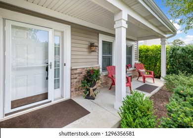 Front Porch Exterior Residential Real Estate
