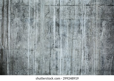 Front shot of textured concrete wall