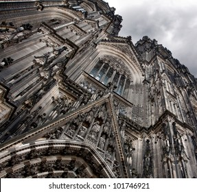 Front side of the Cologne Cathedral,Germany