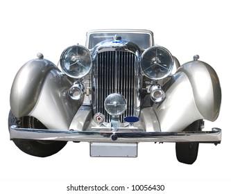 Front view of a 1936 Lagonda LG45