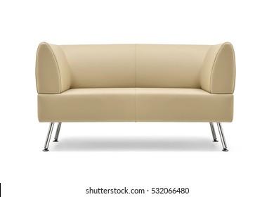 Astonishing Beige Leather Sofa Images Stock Photos Vectors Shutterstock Squirreltailoven Fun Painted Chair Ideas Images Squirreltailovenorg