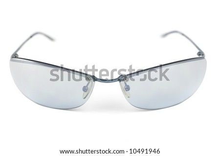15ed48e70e32 Front View Pair Trendy Sunglasses Man Stock Photo (Edit Now ...