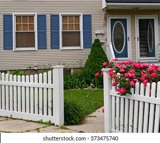 Front Yard Fence Images Stock Photos Vectors Shutterstock