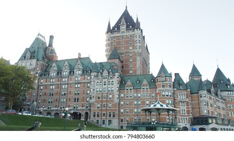 Frontenac Castle in the old Quebec City