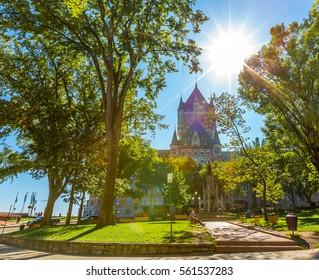 Frontenac Chateau, Quebec Canada
