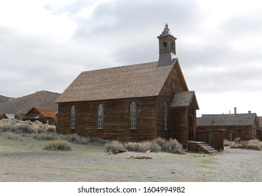 Frontier Church , Bodie California , Ghost town