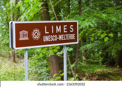 Frontier line of Romans Empire in Germany and German: World Heritage