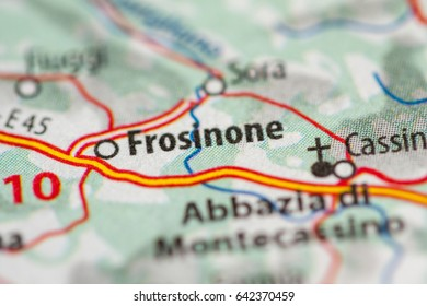 Frosinone Italy Map.Map Of Frosinone Images Stock Photos Vectors Shutterstock