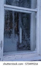 Frost Flowers in Window