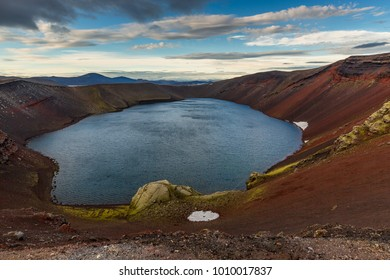 Frostastavadatn lake, Iceland