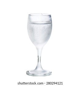 Frosted glass (riumka) of Vodka
