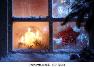 Christmas Window.Christmas Window Images Stock Photos Vectors Shutterstock
