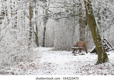 Frosty winter in Luxembourg