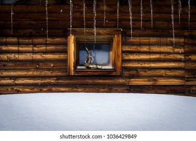 Frosty Winter Window