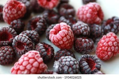 frozen berries raspberries strawberries blackberries