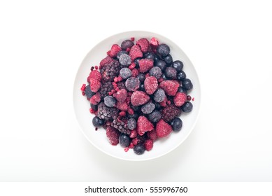 frozen berry mix