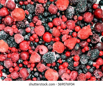 frozen fruit / berries, background