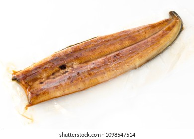Frozen glazed grilled eel