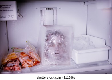 frozen head