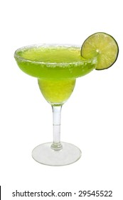 Frozen Margarita with Clipping Path