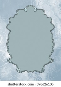 Frozen Paper - great usage as a card, invitation or scrapbook