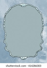 Frozen Paper - great usage as a card, invitation or scrapbook background